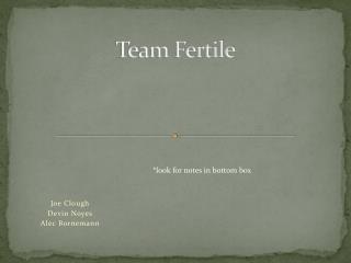Team Fertile