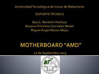 "MOTHERBOARD  ""AMD"""