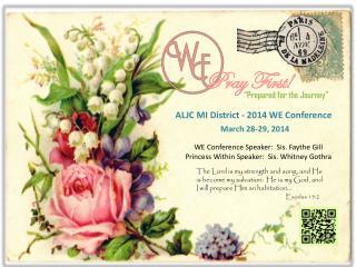 ALJC MI District - 2014 WE Conference
