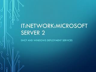 IT:Network:Microsoft Server 2