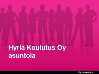 Hyria Koulutus Oy asuntola
