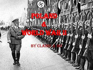 Poland  & World War II