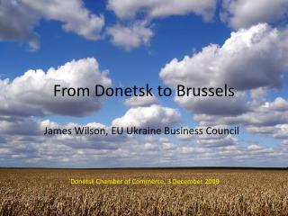 From Donetsk to Brussels