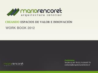 WORK BOOK 2012