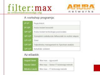 Aruba Instant Workshop