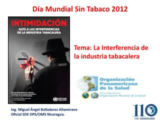 D�a Mundial Sin Tabaco 2012