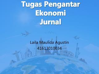 Tugas Pengantar Ekonomi Jurnal