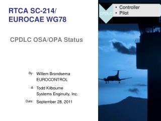 RTCA SC-214/ EUROCAE  WG78
