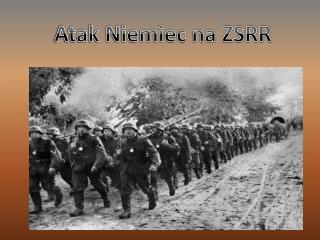 Atak Niemiec na ZSRR