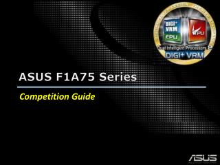 ASUS F1A75 Series