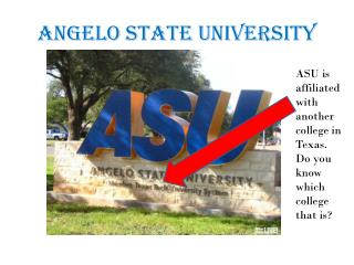 Angelo State University