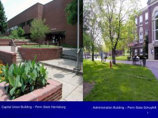 Capital Union Building   Penn State Harrisburg