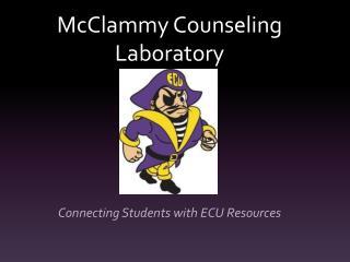 McClammy  Counseling Laboratory