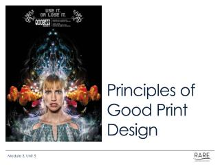 Principles of Good Print Design