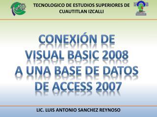 TECNOLOGICO DE ESTUDIOS SUPERIORES DE CUAUTITLAN IZCALLI