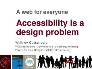 Accessibility is a design problem