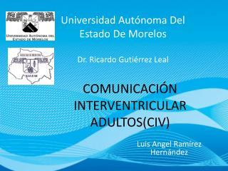 COMUNICACIÓN INTERVENTRICULAR ADULTOS(CIV)