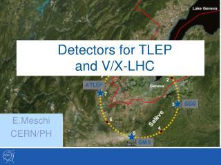Detectors for TLEP  and V/X-LHC