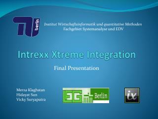 Intrexx  X treme  Integration