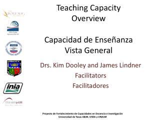 Teaching Capacity Overview Capacidad  de  Enseñanza Vista General