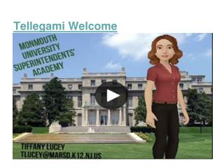 Tellegami Welcome