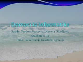 Domaci iz informatike