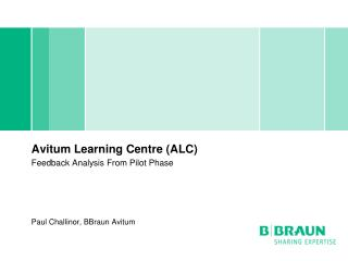 Avitum Learning Centre (ALC) Feedback Analysis From Pilot Phase