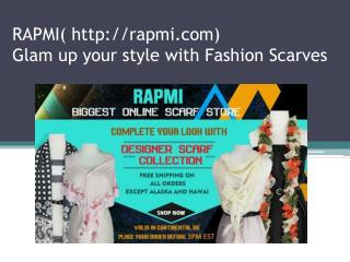 Designer Scarves at Rapmi
