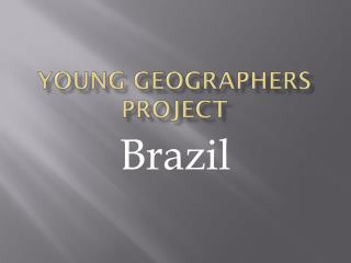 Young Geographers Project