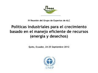 Eficiencia en el uso de los recursos en América Latina: Perspectivas e implicaciones económicas