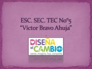 """ESC. SEC. TEC No°5 """"Víctor Bravo Ahuja"""""""