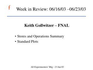Week in Review: 06
