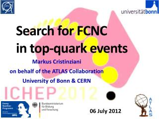 Search for FCNC  in top-quark events