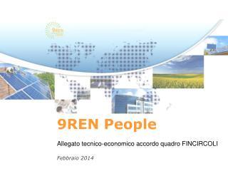 9 REN People Allegato  tecnico-economico  accordo  quadro  FINCIRCOLI Febbraio 2014