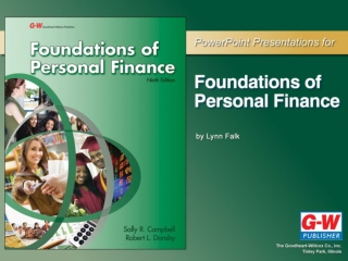Chapter 1 What is Financial Planning