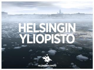 Hakeminen Helsingin yliopistoon