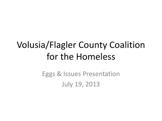 Volusia/Flagler County Coalition for the Homeless