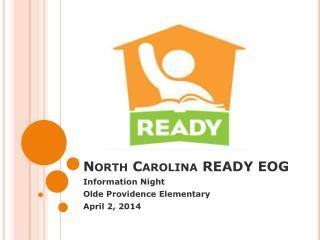 North Carolina READY EOG