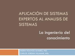 INDIRA NOLIVOS ALVAREZ,  PhD. CARLOS JORDAN VILLAMAR,  MSc.