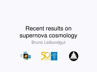 Recent results on  supernova cosmology