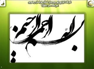 شرکت توزيع نيروی برق استان خراسان رضوی کارنامه سال 1391