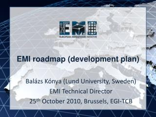 EMI roadmap (development plan)