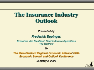 Current Insurance Industry  Market Conditions