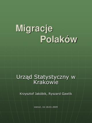 Migracje  Polaków
