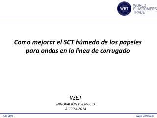 Como mejorar el SCT  h ú m edo de los papeles para ondas en la línea de  c orruga d o