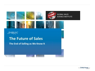 Journal of Personal Selling  Sales Management