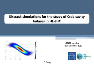 Sixtrack  simulations for the  study  of  C rab cavity failures  in HL-LHC