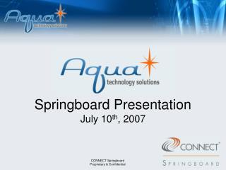 Springboard  Presentation