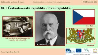 84.1 Československá republika /První republika/