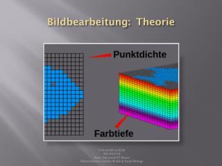 Bildbearbeitung:Theorie